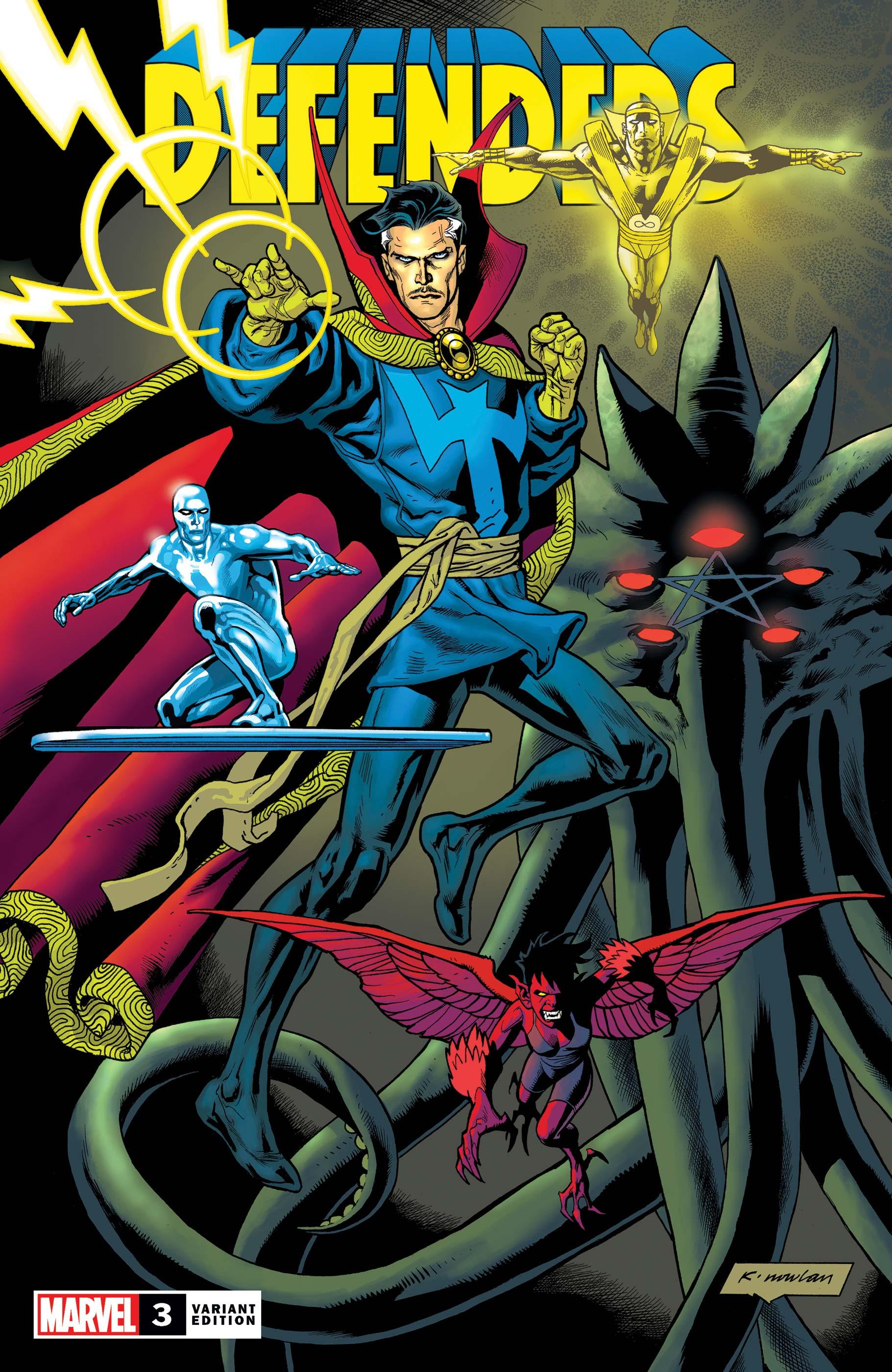 Defenders (2021) #3 (Variant)