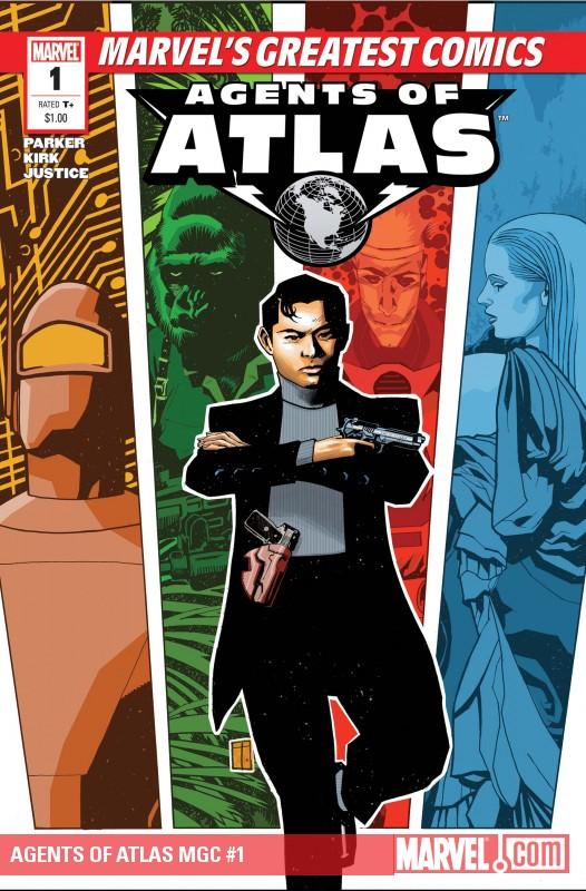 Agents of Atlas MGC (2010) #1