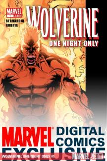 Wolverine: One Night Only (2009) #1