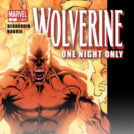 WOLVERINE: ONE NIGHT ONLY DIGITAL COMIC 1 (2009) #1