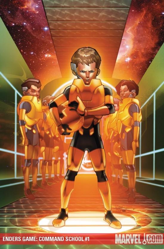 Enders Game: Command School (2009) #1