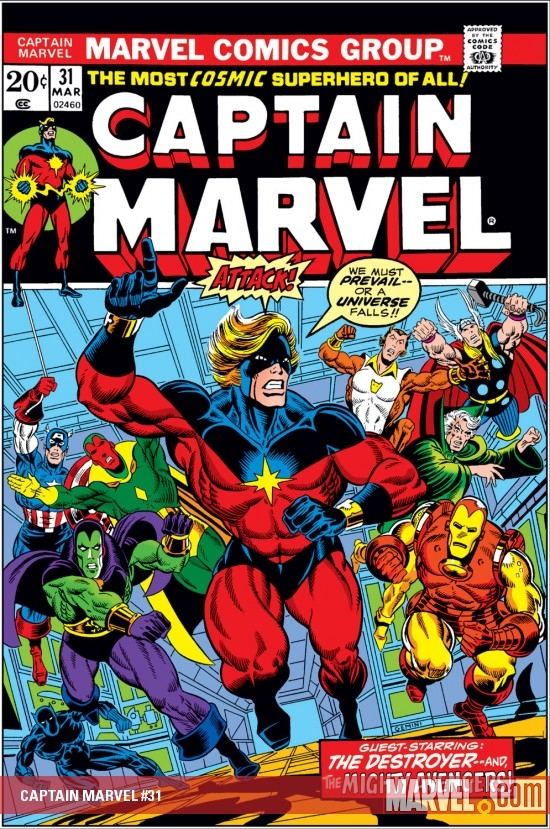 Captain Marvel (1968) #31