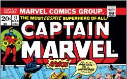 CAPTAIN MARVEL #31 COVER