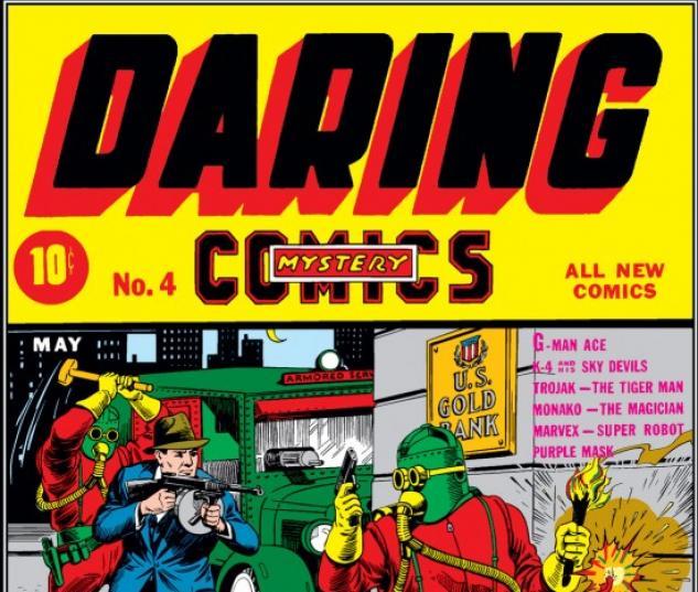Daring Mystery Comics #4