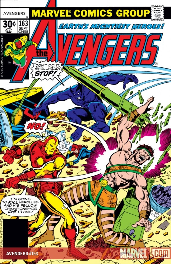 Avengers (1963) #163