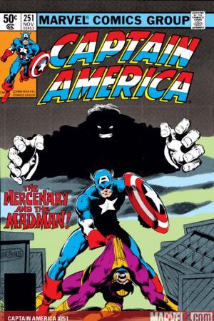 Captain America (1968) #251