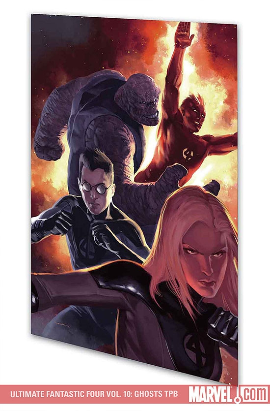 Ultimate Fantastic Four Vol. 10: Ghosts (Trade Paperback)