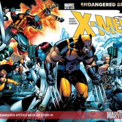 X-MEN: ENDANGERED SPECIES BACK-UP STORY #1
