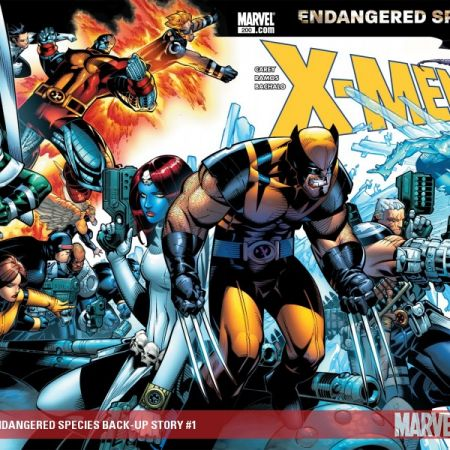 X-Men: Endangered Species Back-Up Story Digital Comic (2007)