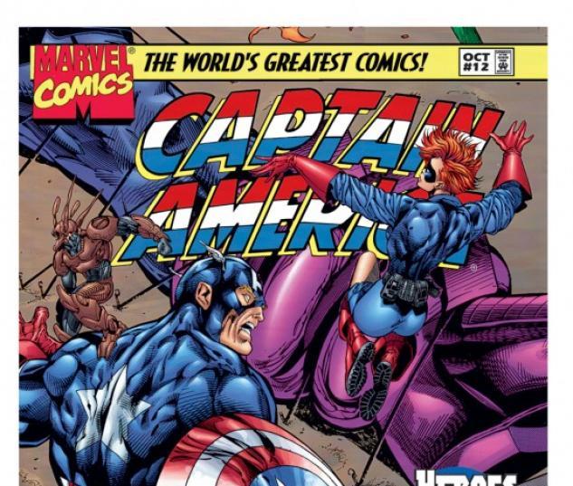 CAPTAIN AMERICA (2009) #12 COVER