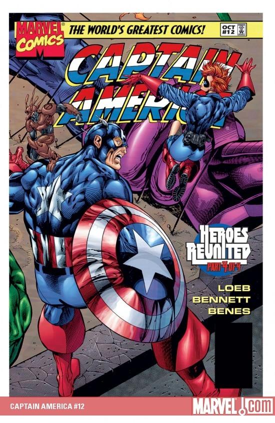 Captain America (1996) #12