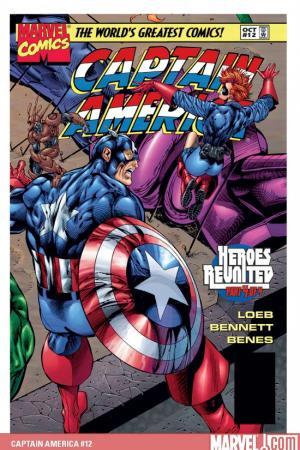 Captain America #12