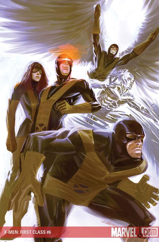 X-Men: First Class (2007) #6