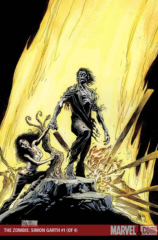 The Zombie: Simon Garth (2007) #1