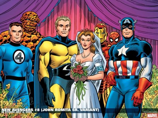 New Avengers (2004) #8 Wallpaper