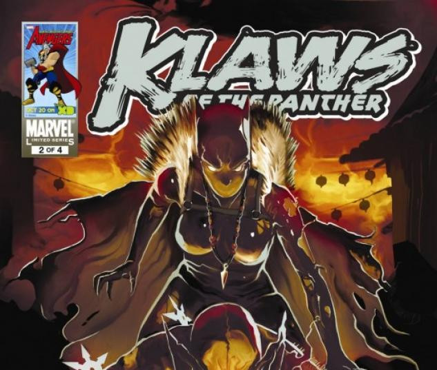 Klaws of the Panther (2010) #2