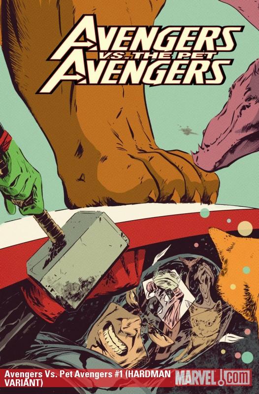 Avengers Vs. Pet Avengers (2010) #1 (HARDMAN VARIANT)