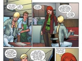 YOUNG ALLIES #6 preview page by David Baldeon
