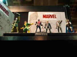 Classic Marvel Figurines from Eaglemoss Publications at Toy Fair 2011
