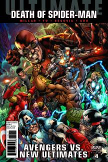 Ultimate Avengers Vs. New Ultimates (2011) #4 (HITCH VARIANT)