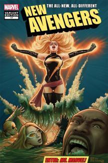New Avengers (2010) #17 (Mc 50th Anniversary Variant)