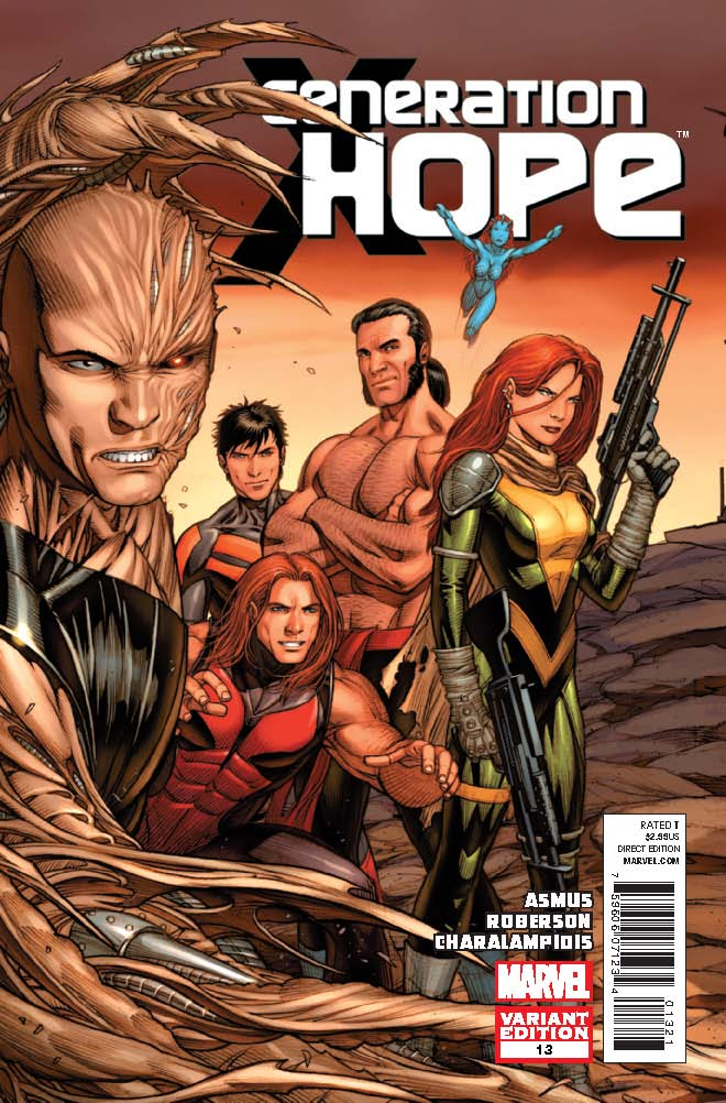 Generation Hope (2010) #13 (Keown Variant)