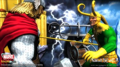 Marvel Pinball: Vengeance & Virtue Thor table screenshot