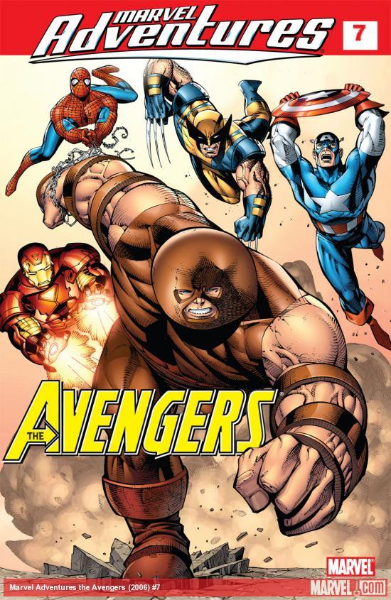 Marvel Adventures the Avengers (2006) #7