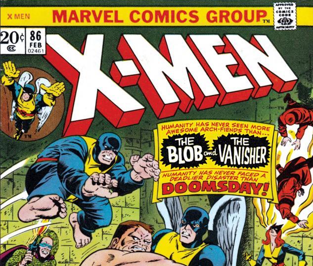 Uncanny X-Men #86 Cover