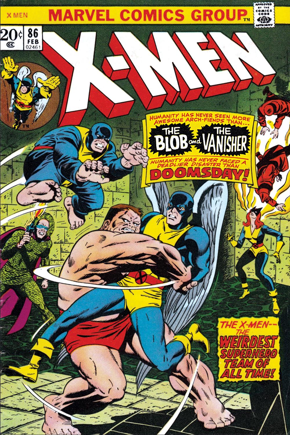 Uncanny X-Men (1963) #86