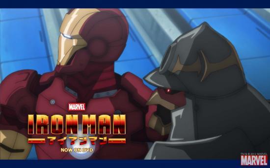 Iron Man Anime Wallpaper #2
