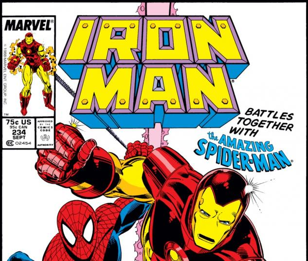 Iron Man (1968) #234 Cover