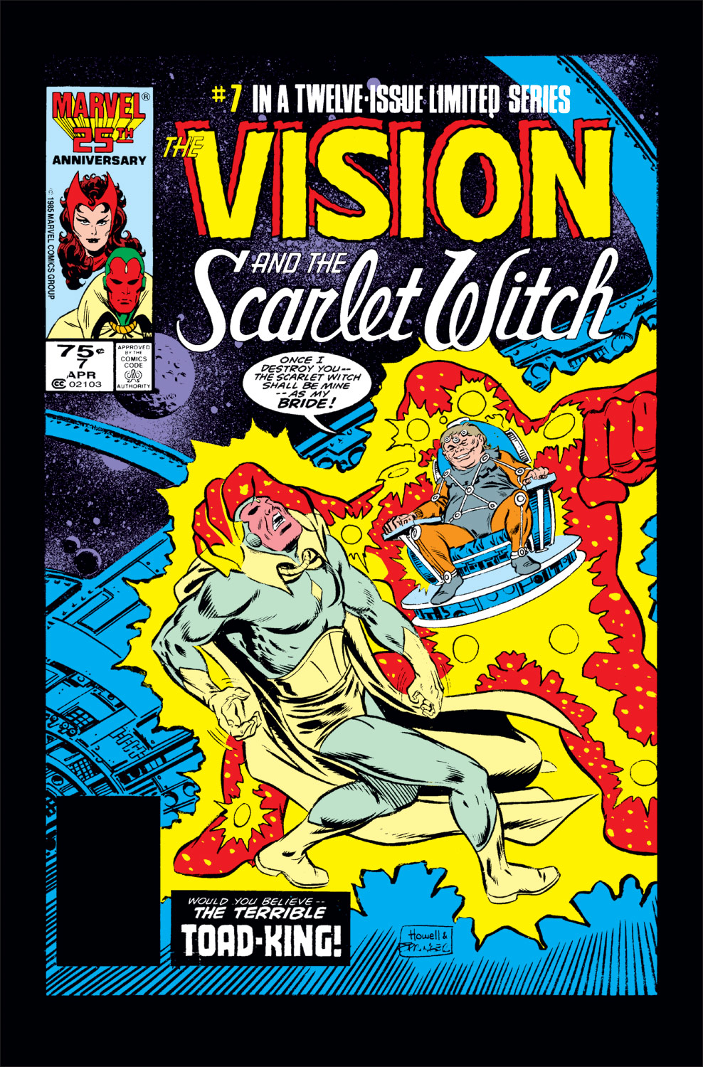 Vision and the Scarlet Witch (1985) #7