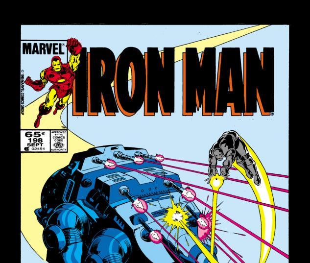 Iron Man (1968) #198 Cover