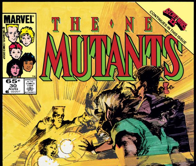 New Mutants (1983) #30 Cover