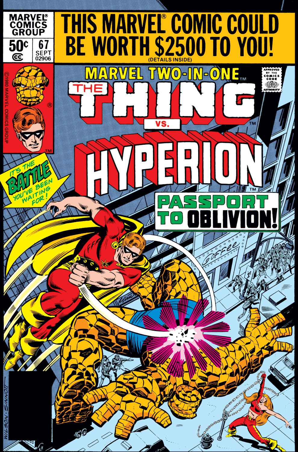 Marvel Two-in-One (1974) #67