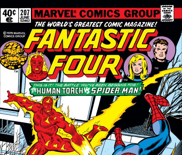 Fantastic Four (1961) #207 Cover