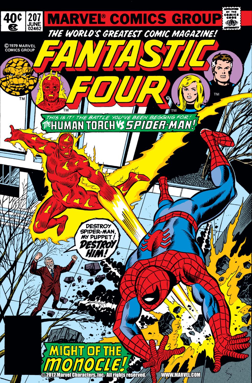 Fantastic Four (1961) #207