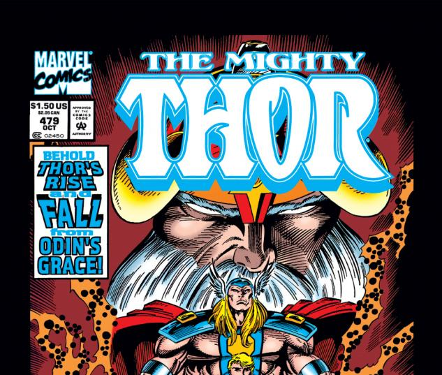 Thor (1966) #479 Cover