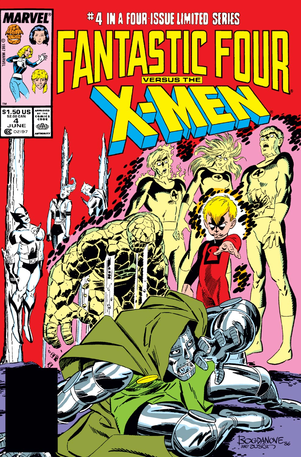Fantastic Four Vs. X-Men (1987) #4