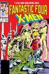 Fantastic Four vs. the X-Men (1987) #4 Cover