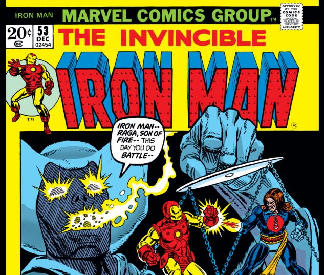 Iron Man (1968) #53 Cover