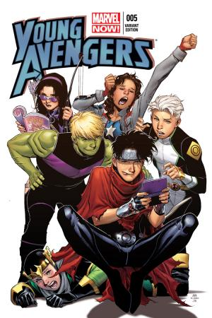 Young Avengers (2013) #5 (Cheung Variant)