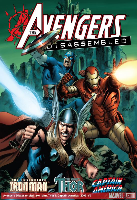 AVENGERS DISASSEMBLED: IRON MAN, THOR & CAPTAIN AMERICA HC (Hardcover)