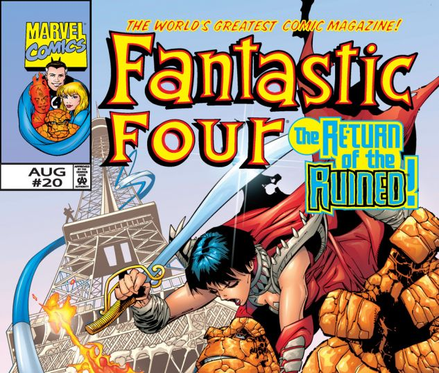 Fantastic Four (1998) #20 Cover