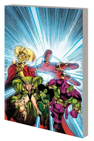 Infinity Gauntlet Aftermath (Trade Paperback)