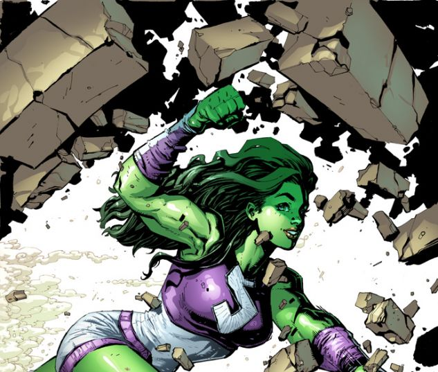 She-Hulk (2014) #1 variant cover by Ryan Stegman