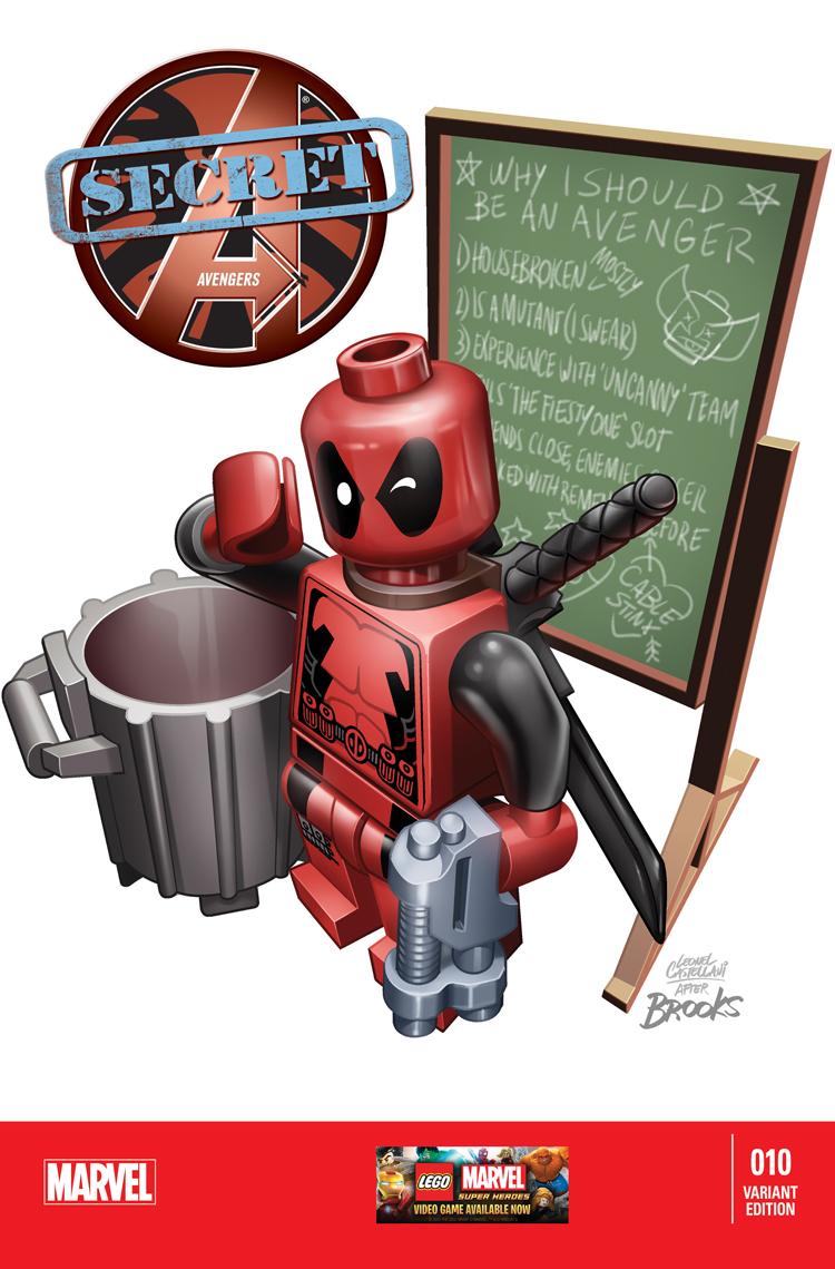 Secret Avengers (2013) #10 (Castellani Lego Variant)
