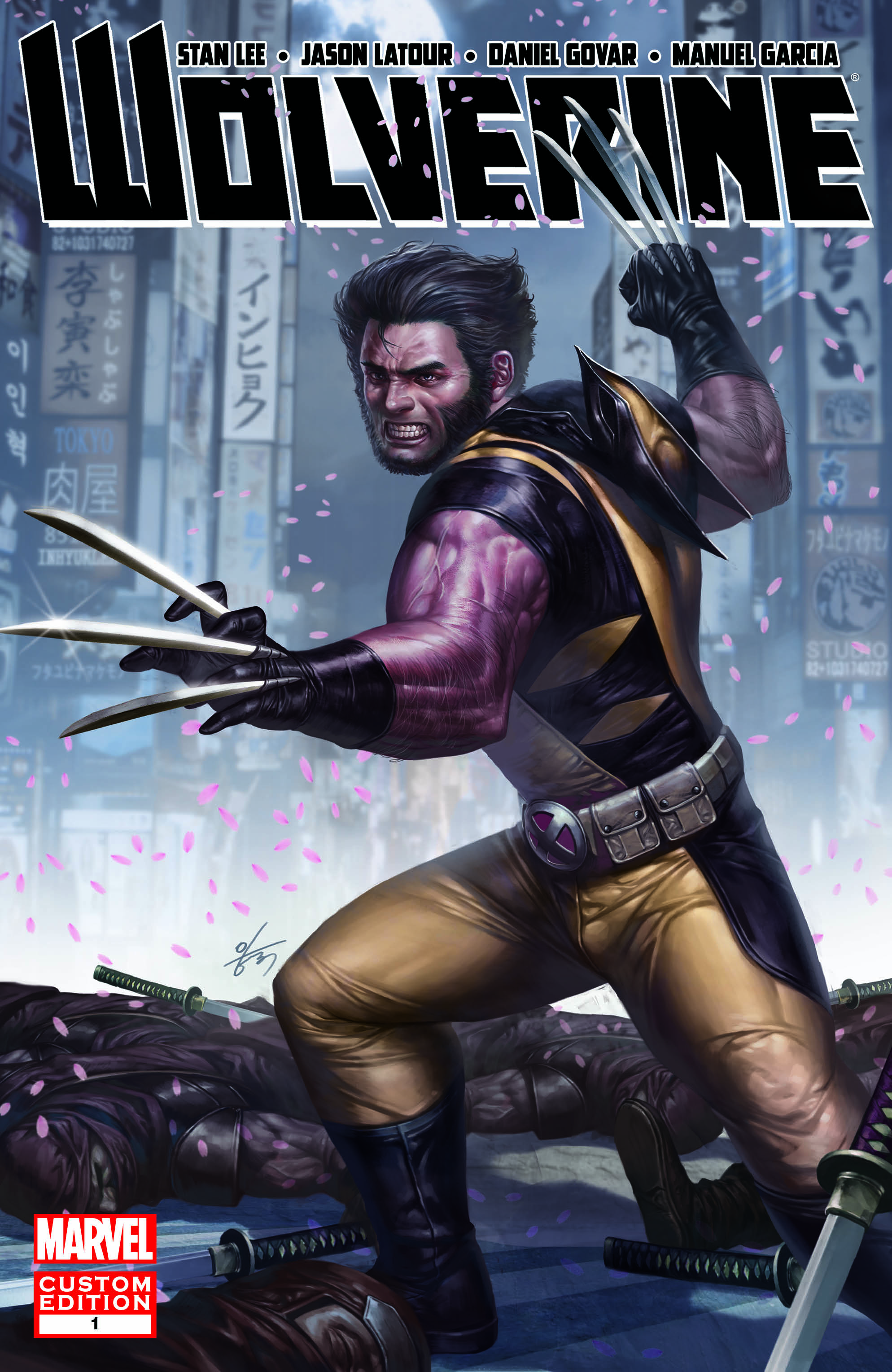 WOLVERINE: CUSTOM FOX INFINITE COMIC 1 (2013) #1