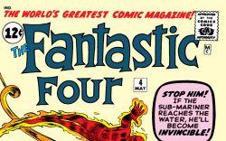 Fantastic Four (1961) #4 Cover